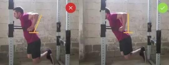 双杠臂屈伸常见的3个错误动作纠正